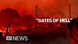 Flames rip through towns, fears death toll will rise as bushfires rage on | ABC News