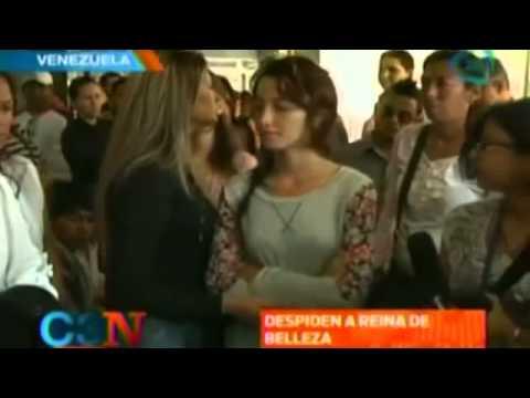 Venezuela: Despiden y Entierran a Génesis Carmona, La Miss Asesinada Durante Protestas