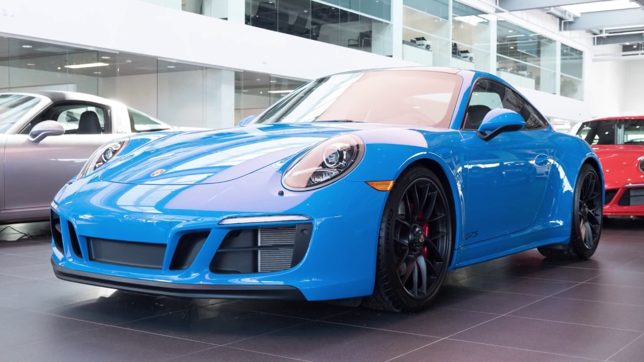Paint,to,Sample Voodoo Blue 911 Carerra 4 GTS at Porsche Centre North  Toronto