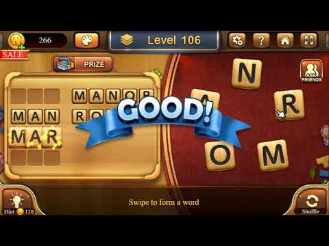 Word Connect level 106