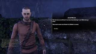 The Elder Scrolls Online Vampire gameplay part4(Rivenspire)(PC)[HD](PL)