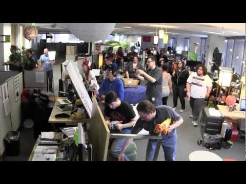 Office Nerf War 2012