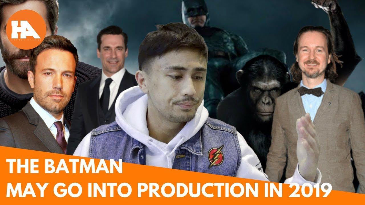 Matt Reeves The Batman Movie May Start Production in 2019