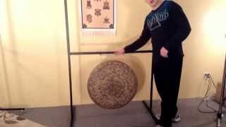 Paiste Square Gong Stand - Have it Hold 2 Gongs With Upper Cross Bar