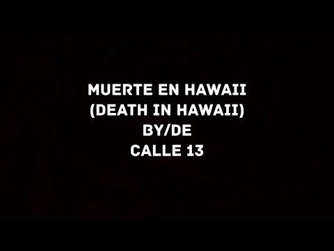 Calle 13 - Muerte en Hawaii (English Translation/Letra)