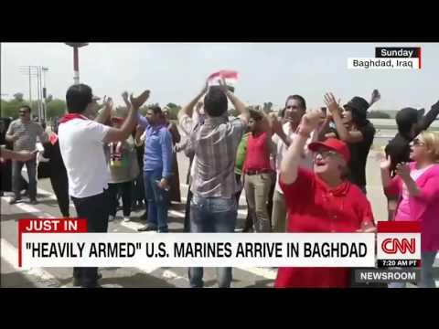 Armed Marines Sent To U.S. Embassy In Baghdad