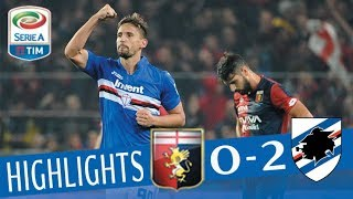 Genoa - Sampdoria 0-2 - Highlights - Giornata 12 - Serie A TIM 2017/18