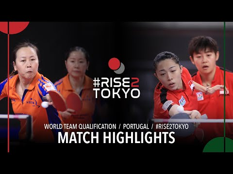 Li Jiao/Li Jie Vs Lin Ye/Yu Mengyu | 2020 World Team Qualification (R16)