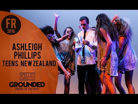 Ashleigh Phillips (Newspaper) | Teens FRONT ROW | GROUNDED 2016 'Prop Masters' NZ