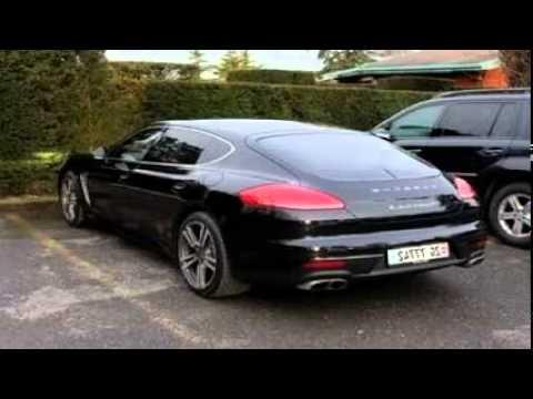 2014 porsche panamera turbo s black - Porsche Panamera 2014 Black