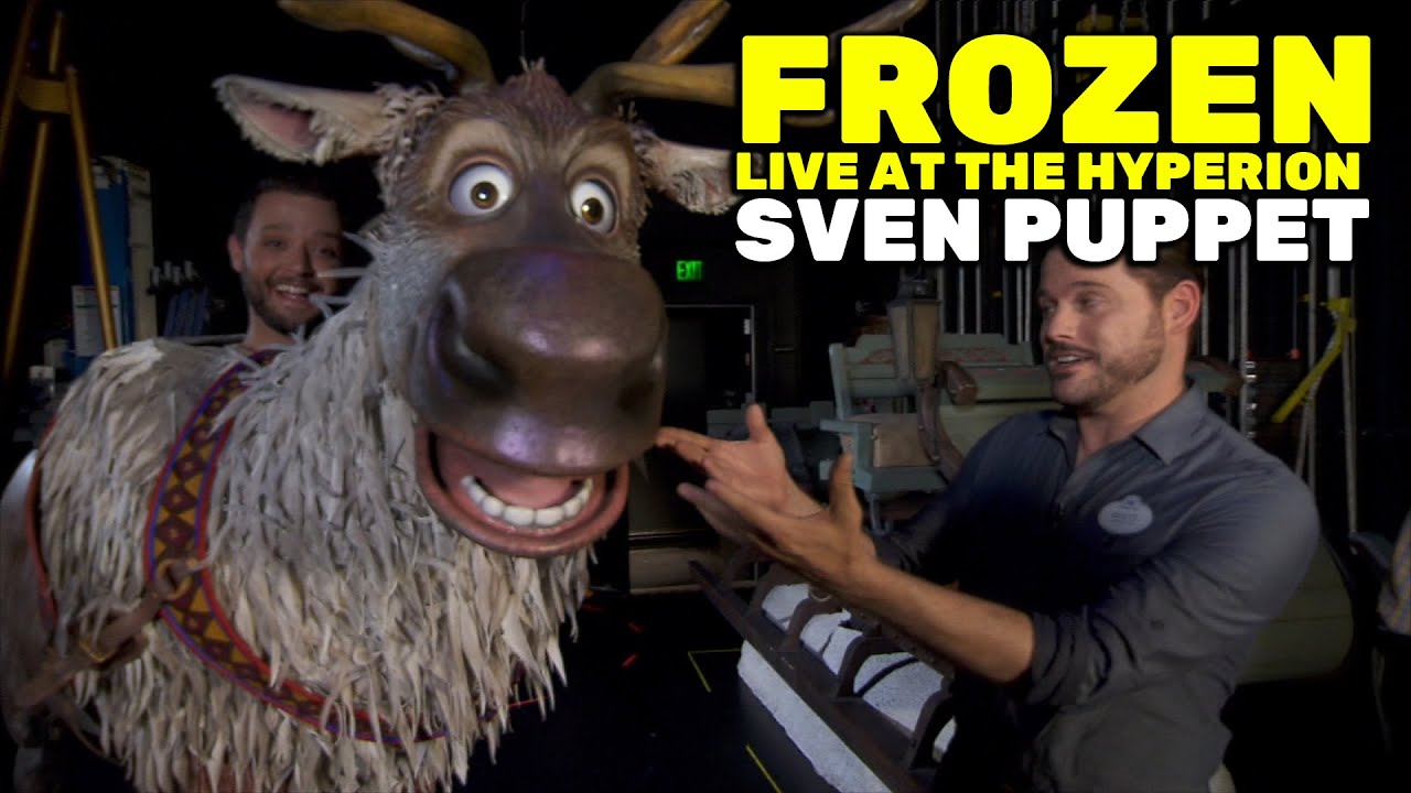 Sven puppet interview for