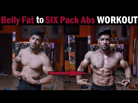 Belly Fat to Six Pack Abs Workout | How to Lose Belly Fat Fast (Home/Gym)