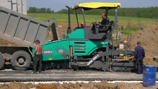 Asphalt paving 2011: Vögele Super 1800-2, Ammann AV85-2,Ammann AV115-2,Ammann AP240