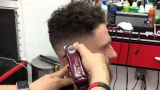 HOW TO DO A FADE IN LEVELS, TRIMMING & SHAPING THE BEARD/JEFF THE MASTER BARBER TUTORIALS