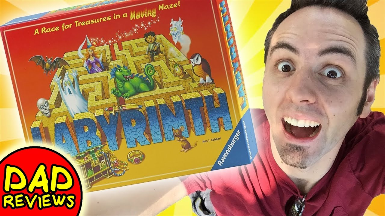 BEST BOARD GAMES | The Amazing Labyrinth Board Game Review
