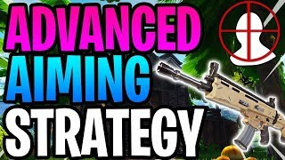 Fortnite Tutorial: How to use an AR!! Part 2!! Abuse Aim Assist and have HIGH accuracy!! (PS4/Xbox)