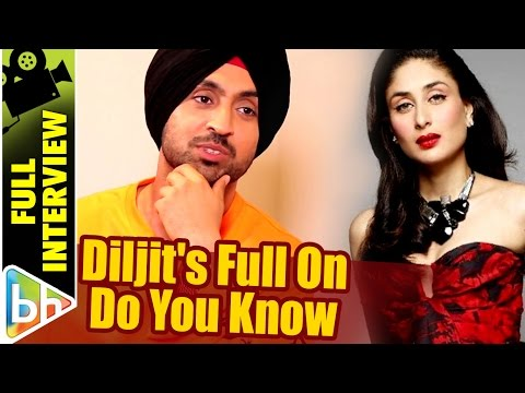 Diljit Dosanjh | Do You Know | Full Interview | Shah Rukh Kh