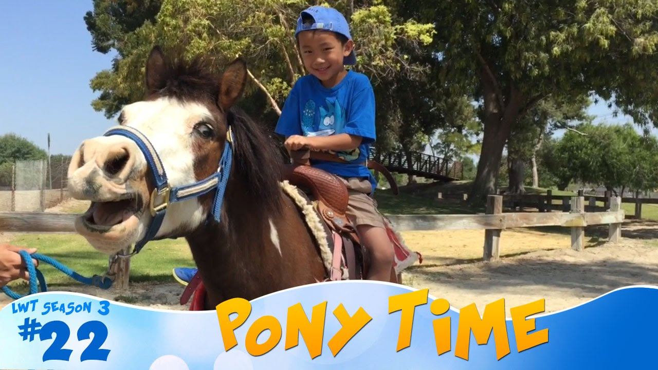 Pony Time At Lakewood Equestrian Center Look Who S