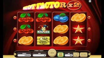 Free Online Slot Hot Factor Gameplay
