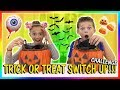 TRICK OR TREAT SWITCH UP CHALLENGE | We Are The Davises
