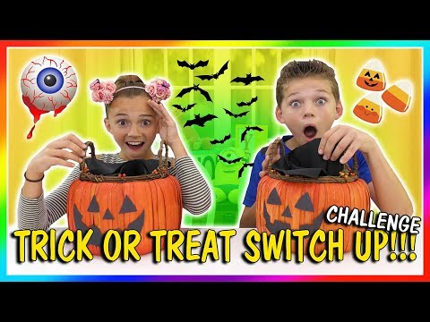 Thumbnail: TRICK OR TREAT SWITCH UP CHALLENGE | We Are The Davises