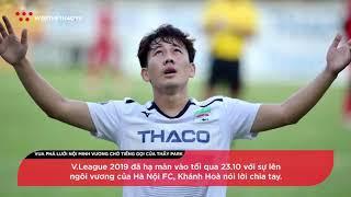 Minh Vương - Vua phá lưới nội 2019 chờ đợi tin từ HLV Park Hang Seo