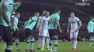 Leeds United 1 v 0 Derby Full 1st half #LUFC (Popey and Noel commentary)