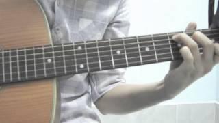 [Fingerstyle Guitar] [Chúc Bé Ngủ Ngon] học viên lớp dạy nhạc [6 NGÀY BIẾT CHƠI GUITAR]