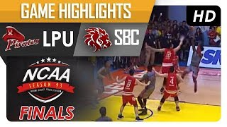 LPU vs. SBC | NCAA 93 | MB | Game Highlights | October 19, 2017