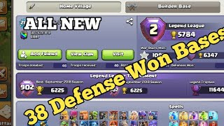 WTF Impossible 24 Defense Win In Legend League? th 11 Best Defense Ever clash of clans 2018 ? HD