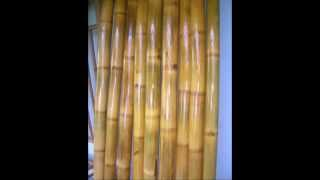 1:decorative Bamboo Poles- Bamboo Poles, Cane For Bamboo Fences, Bamboo House, Tiki Bar, Tiki Hut