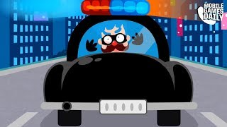 PINKFONG THE POLICE - Gameplay Part 3 (iOS Android) - Games For Kids