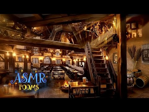 Harry Potter ASMR - ☼ Three Broomsticks Inn ♨ - Hogsmeade Ambience - 1 hour HD Cinemagraphs