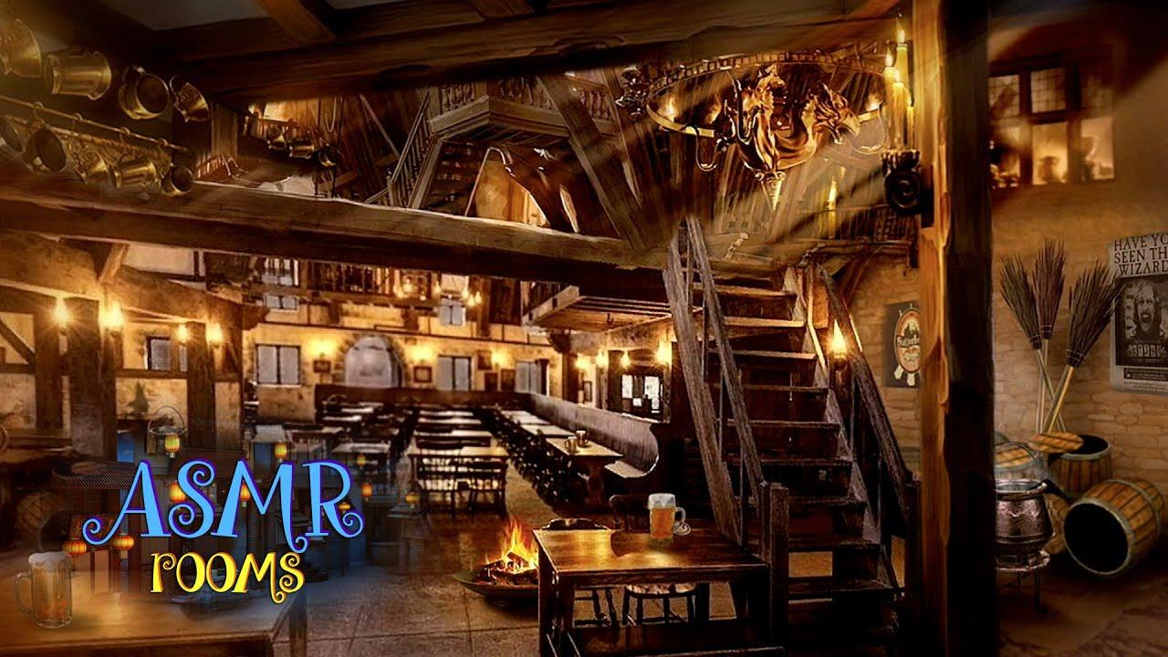 Fireplace 3d Wallpaper Harry Potter Asmr ☼ Three Broomsticks Inn ♨ Hogsmeade