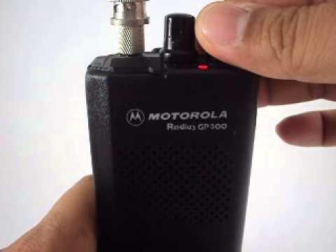 ทดสอบการใช้งาน motorola gp300