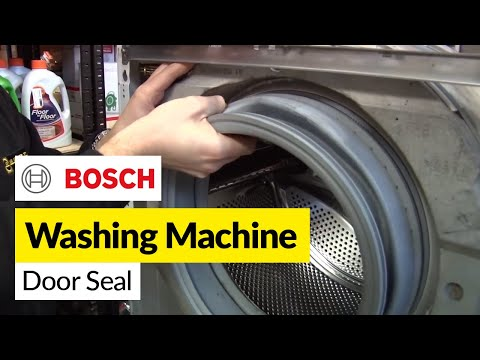 How to Replace a Washing Machine Door Seal on a Bosch Washer