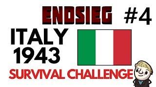 HoI4 - Endsieg - 1943 WW2 Italy - #4 HOLD THE LINE!!