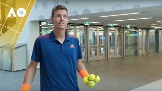 30 Second Bucket Challenge | Australian Open 2017