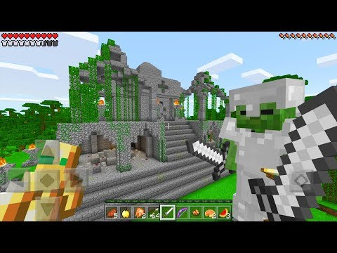 We Returned to The LOST TEMPLE in Minecraft Pocket Edition