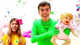 Nastya và Artem một câu chuyện cho trẻ em về sự vô hình