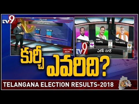 TRS Ram Mohan Goud Vs Congress Sudheer Reddy in LB Nagar - TV9