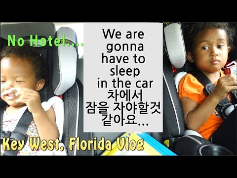 SLEEPING IN THE CAR!? Key West, Cuban Food, Southernmost point Vlog ep. 82 USA Road Trip Day 17