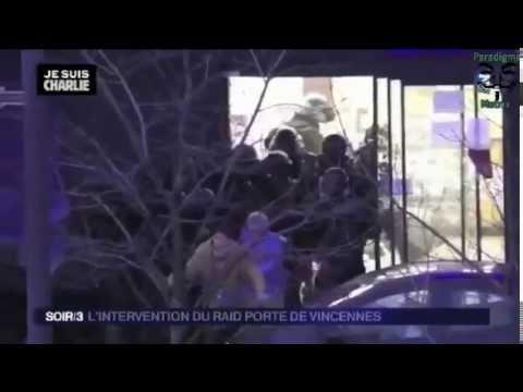 As Forças Especiais Francesas na sua acção sobre os sequestradores no Supermercado Kosher em Paris