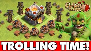 "Clash Of Clans | ""TROLLING CHAMPIONS"" THIS IS IMPOSSIBLE!! 