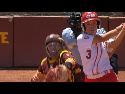 Recap: Bridget Castro homer seals Utah softball series win over ASU