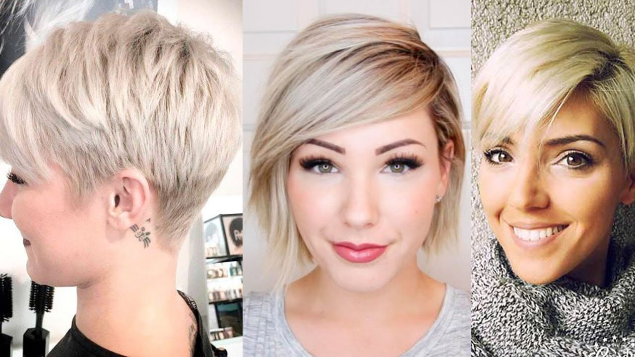 Beautiful Short Blonde Hairstyles Women Blonde Haircuts For Short Hair