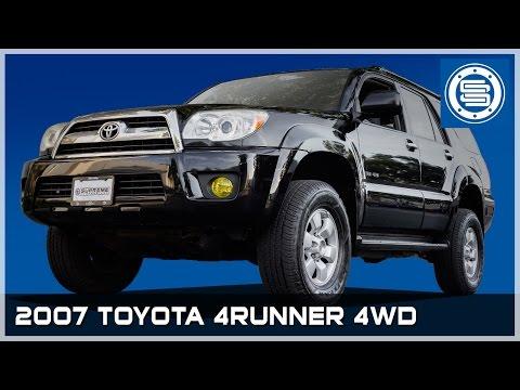 2007 4WD Toyota 4Runner   3