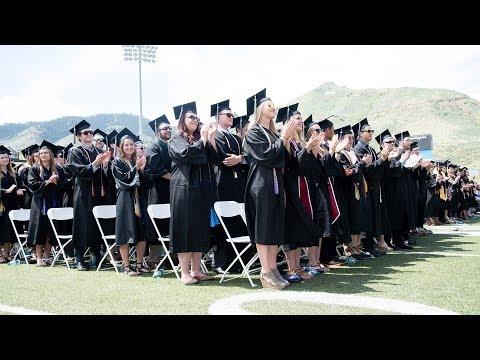 Spring 2019: Undergraduate Commencement Ceremony #1