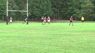 A-State Red Wolves Rugby (B-Side) vs U of A Razorbacks (A-Side) Game 1