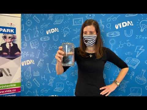 Živé vysílání z VIDA! plné zábavných pokusů s vodou / #1
